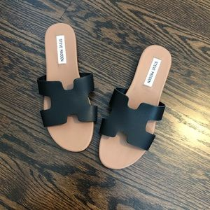 NWOT Steve Madden Harriet Leather Sandals